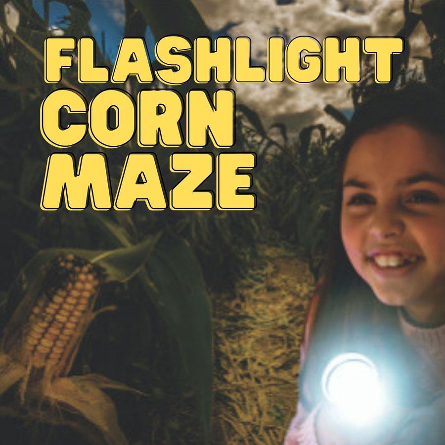 Flashlight Corn Maze