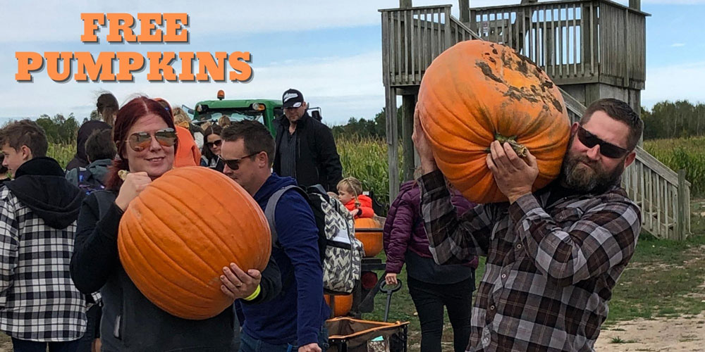 Free Pumpkins at Rounds Ranch