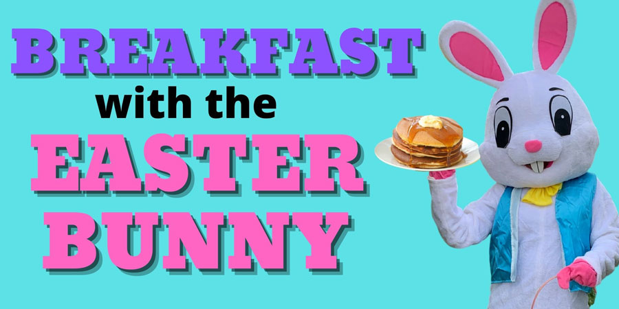 Have Breakfast with the Easter Bunny at Rounds Ranch