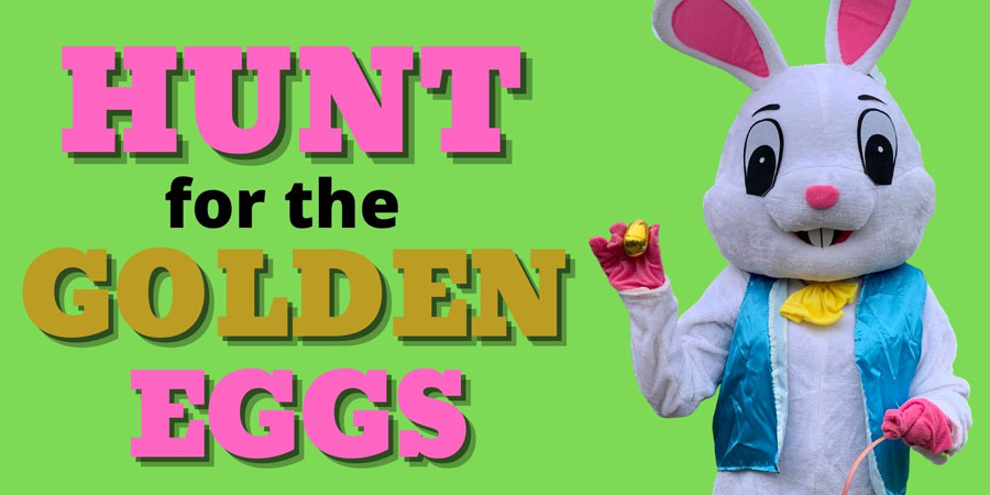 Hunt for Golden Eggs at Rounds Ranch