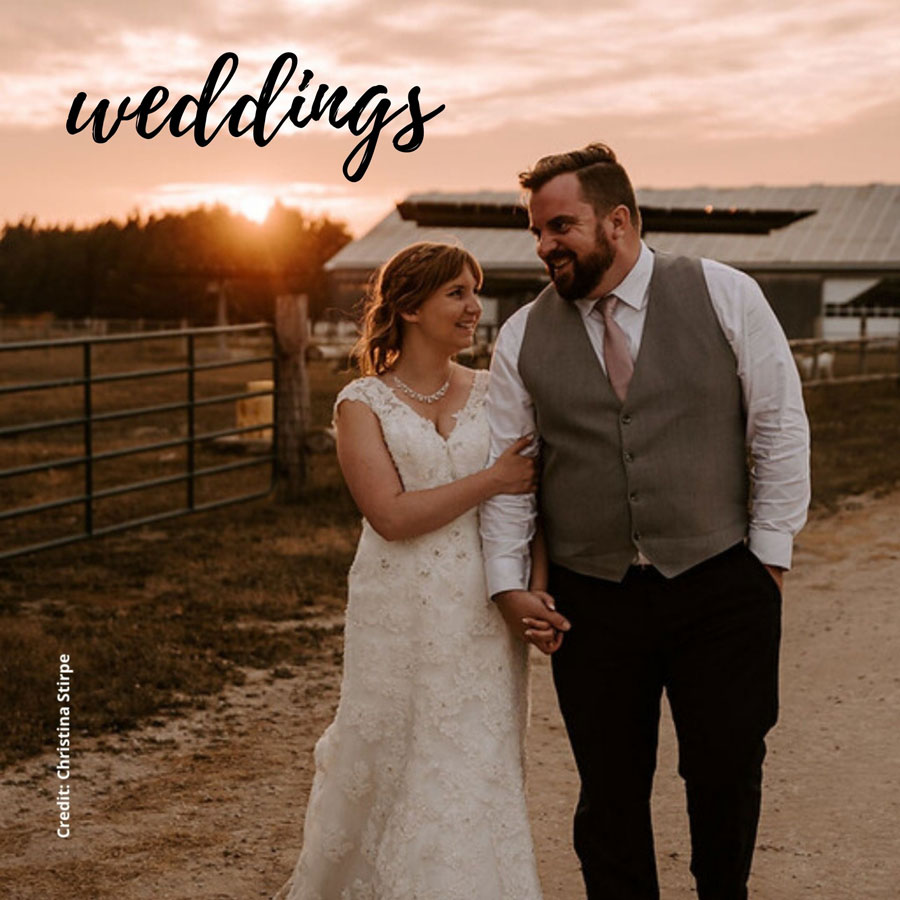 Have your wedding at Rounds Ranch