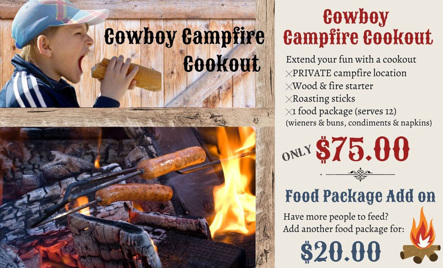 Cowboy Campfire Cookout at Rounds Ranch