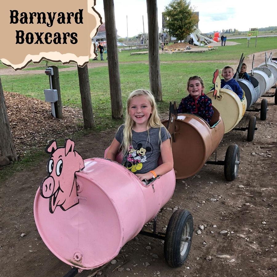 Barnyard Boxcars