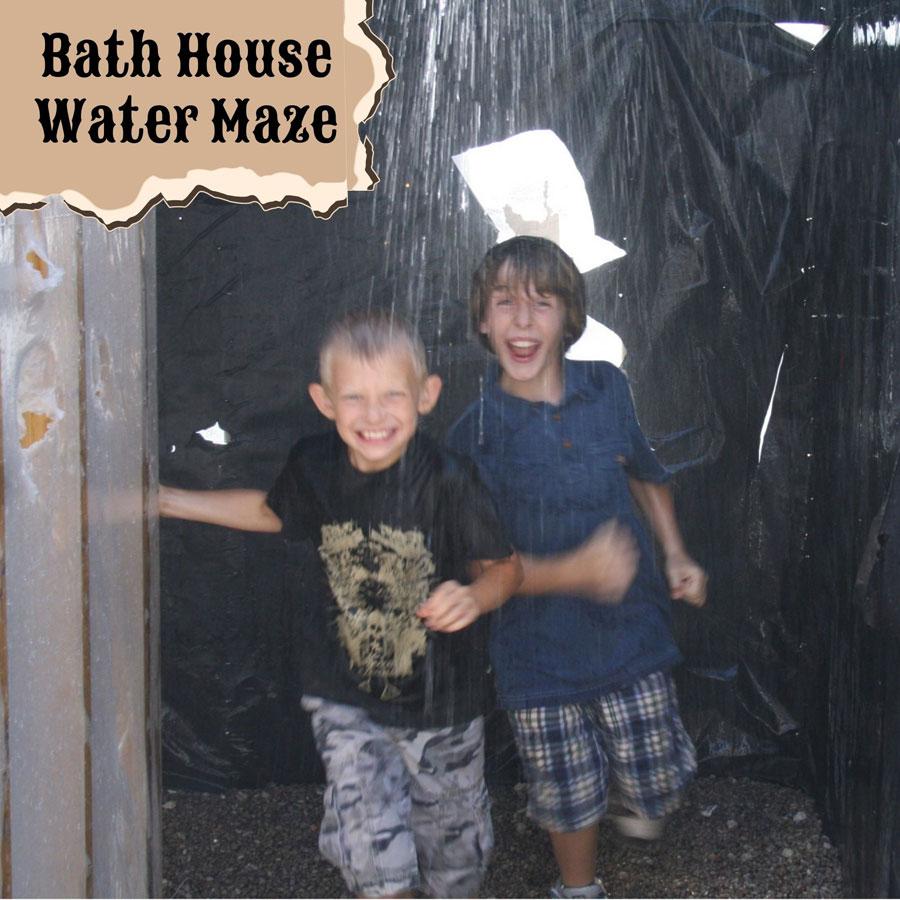 Bath House Water Maze